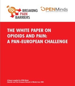 Opioids and pain a Pan-European Challenge