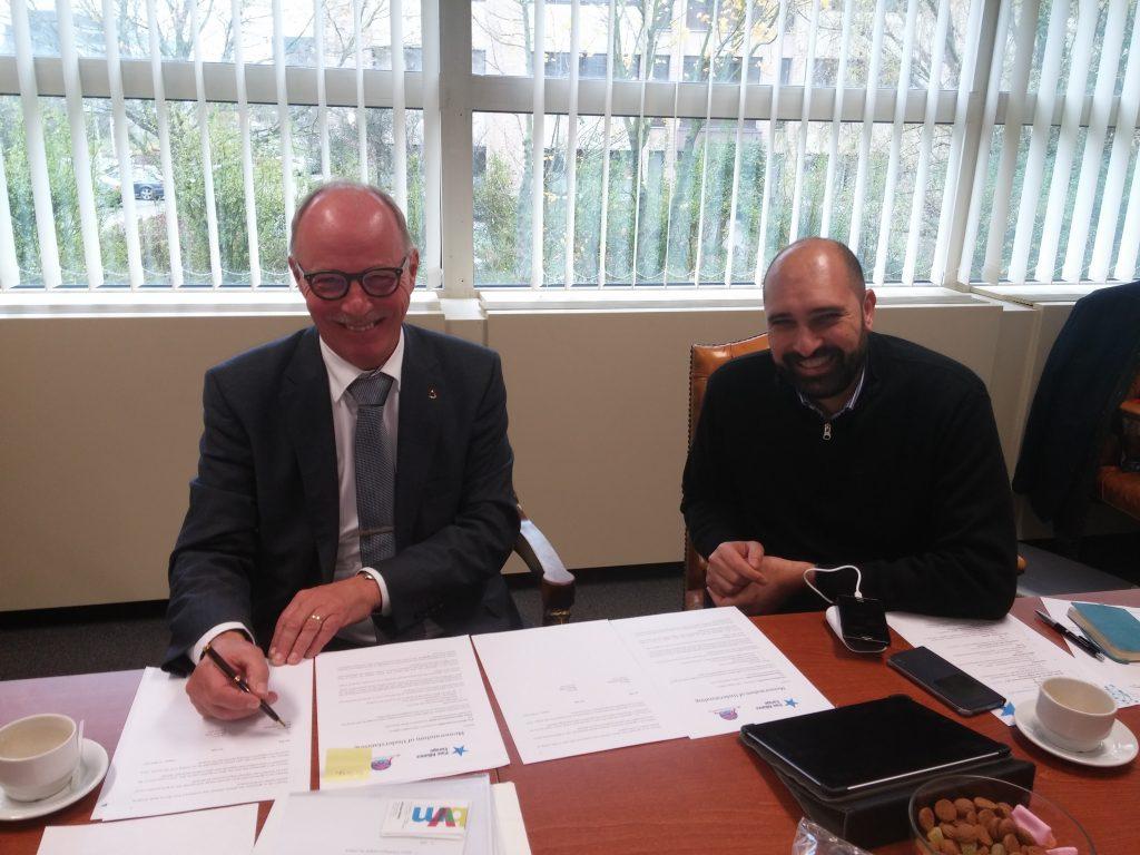 Joop Van Griensven and Mariano Votta