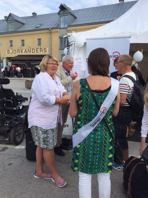 Marie-Louise Olsson -Almedalen week 2017